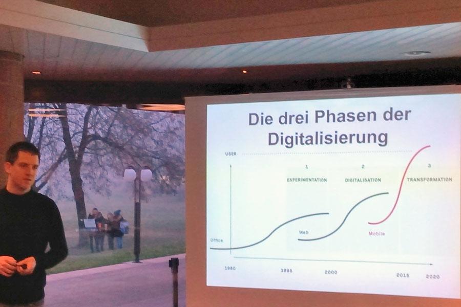 Die drei Phasen der Digitalisierung